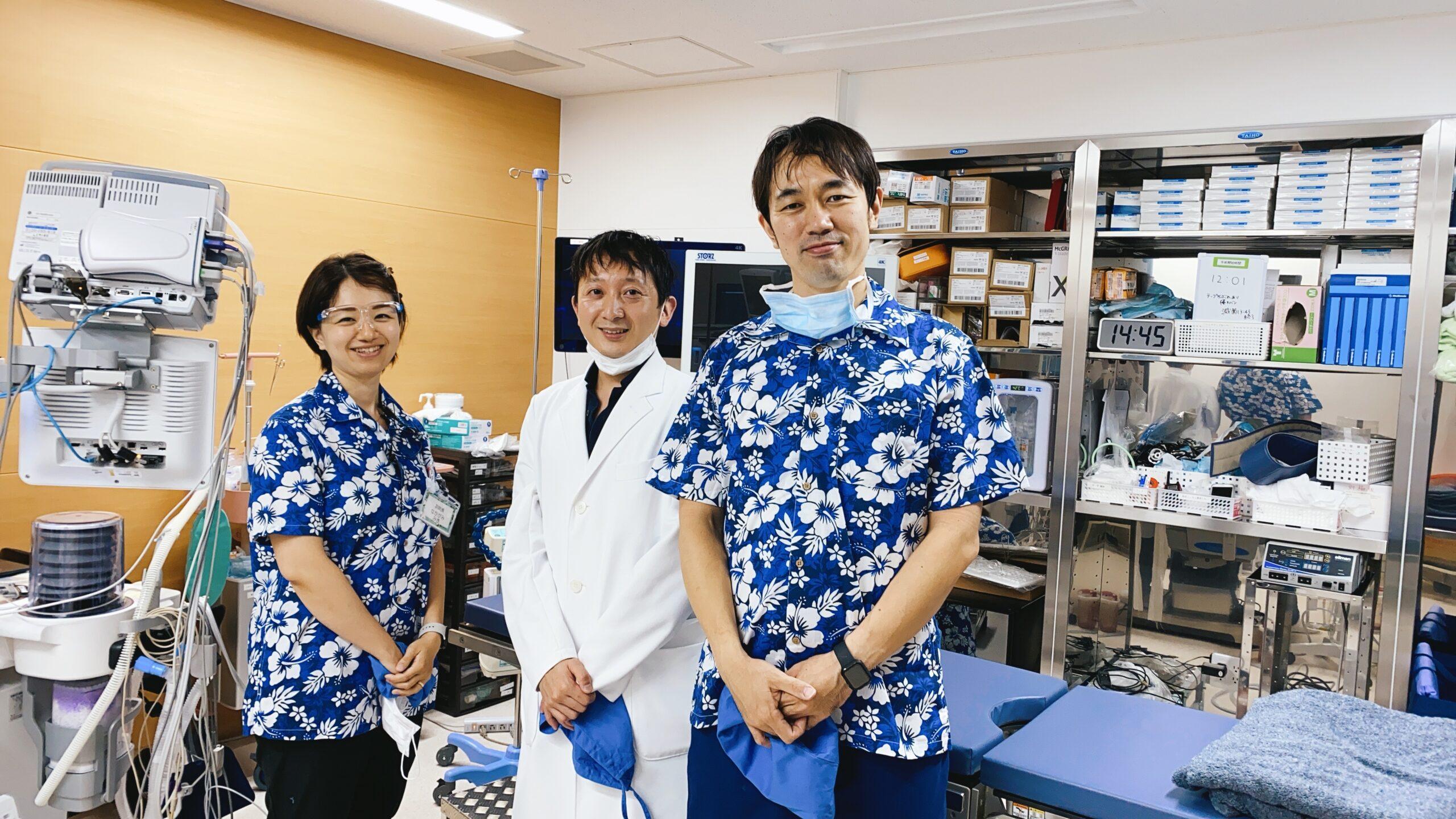 手術の見学④ スムーズな手術体制の構築